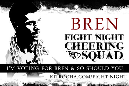 I'm Cheering for Bren!