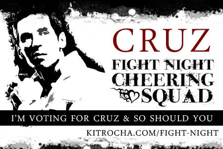 I'm Cheering for Cruz!