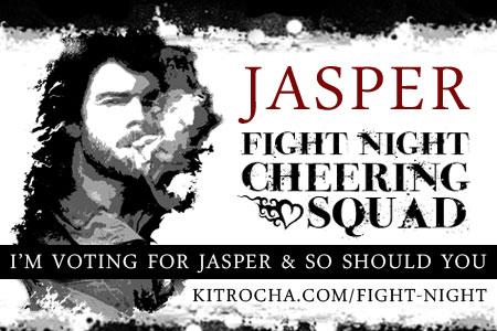 I'm Cheering for Jasper!