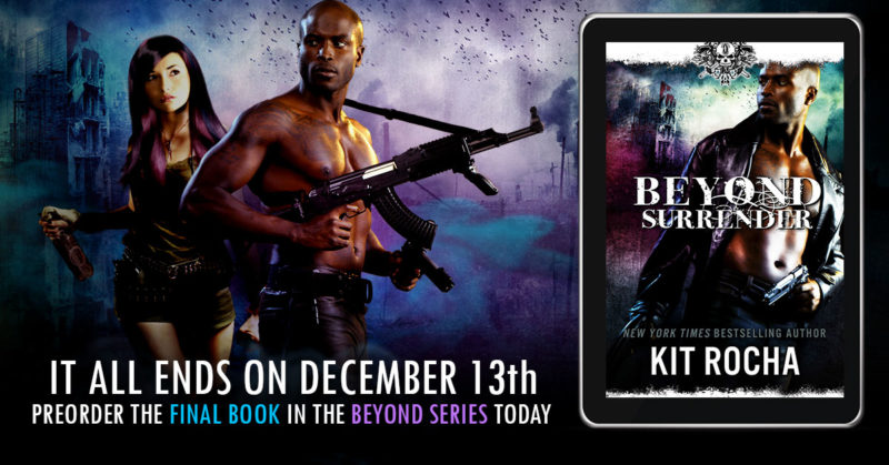 Beyond Surrender is coming out on December 13th. Pre-order it today!