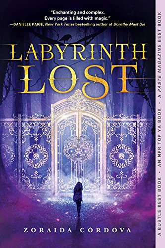 Cover Art for Labyrinth Lost by Zoraida Cordova