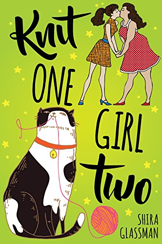 Cover Art for Knit One, Girl Two by Shira Glassman