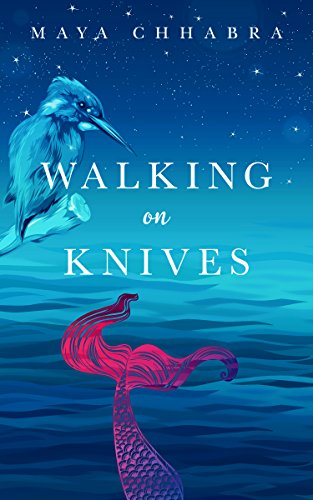 Cover Art for Walking on Knives by Maya Chhabra