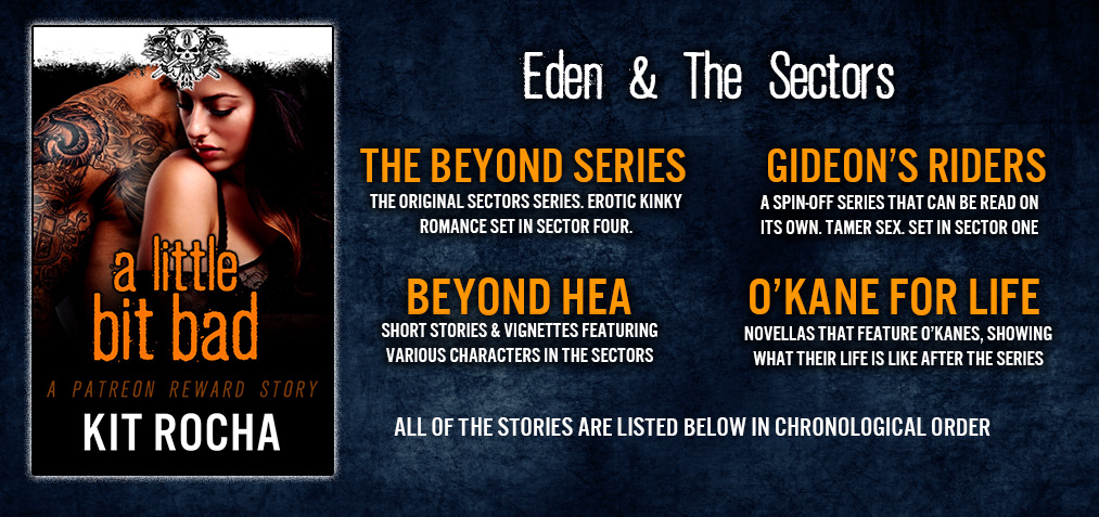 The books below encompass ALL of the stories set in the Sectors, in chronological order.
