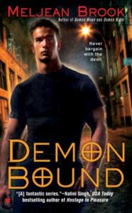 Cover Art for Demon Bound by Meljean Brook