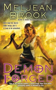 Cover Art for Demon Forged by Meljean Brook