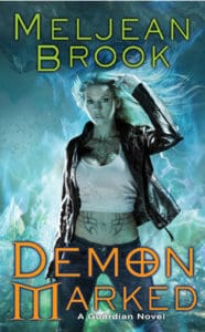Cover Art for Demon Marked by Meljean Brook