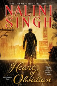 Cover Art for Heart of Obsidian by Nalini Singh