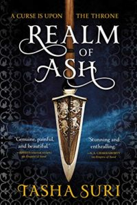 Cover Art for Realm of Ash by Tasha Suri