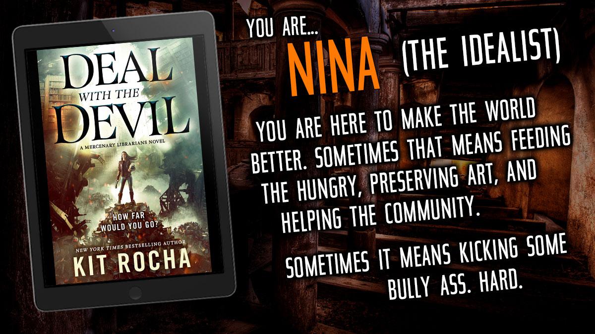 You are NINA.