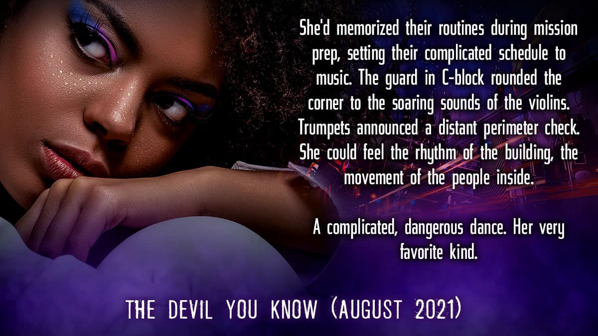 Pre-Order The Devil You Know Now (out August 2021)